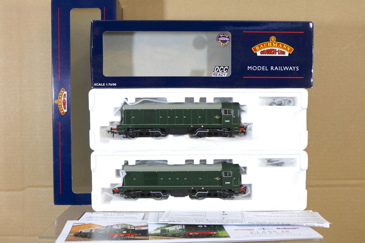 Bachuomon 32027Y1 2 DCC Br classee verde 20 Diesel Loco Set D8000 D8001 Py