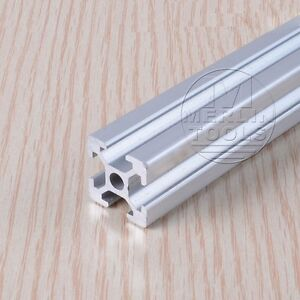 "2525 25X25MM T-SLOT ALUMINUM EXTRUSION 1"" X 1"" FRAMING 200-600MM CUT -3D PRINTER"