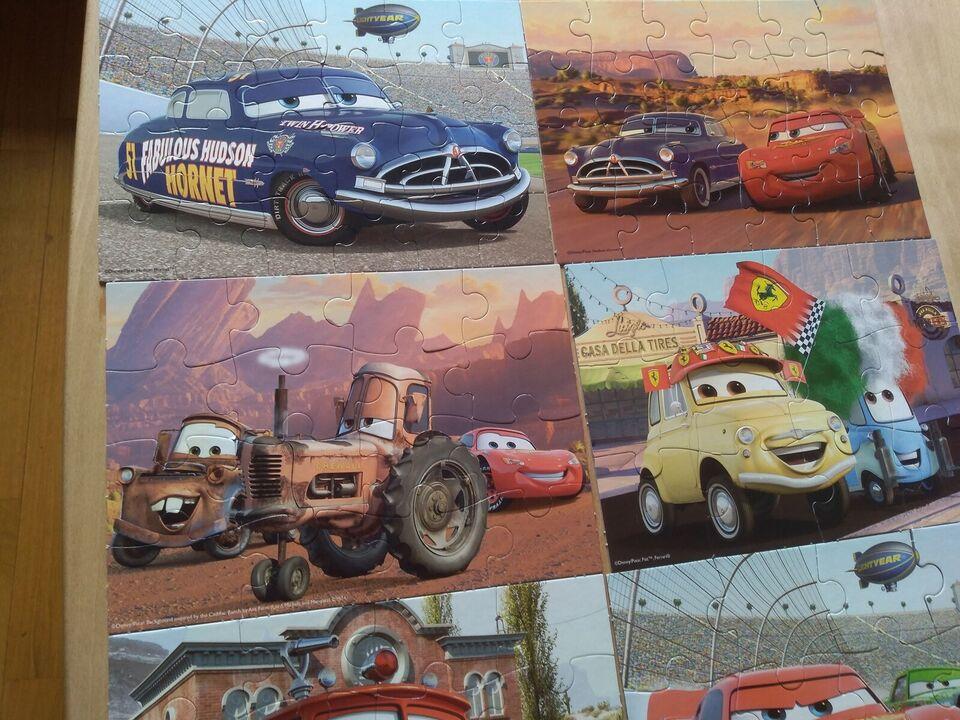 Cars, Puslespil, puslespil