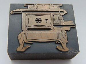 Printing-Letterpress-Printers-Block-Vintage-Wood-Burning-Stove