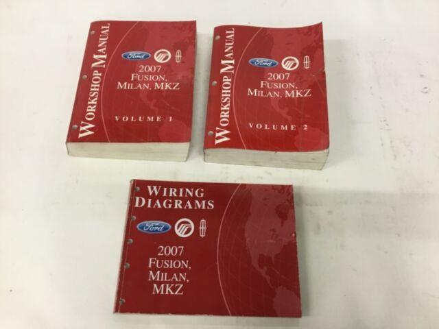 2007 Fusion Milan Mkz Workshop Manuals  U0026 Wiring Diagrams