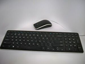 dell km714 wireless mouse and keyboard combo no bluetooth receiver ebay. Black Bedroom Furniture Sets. Home Design Ideas