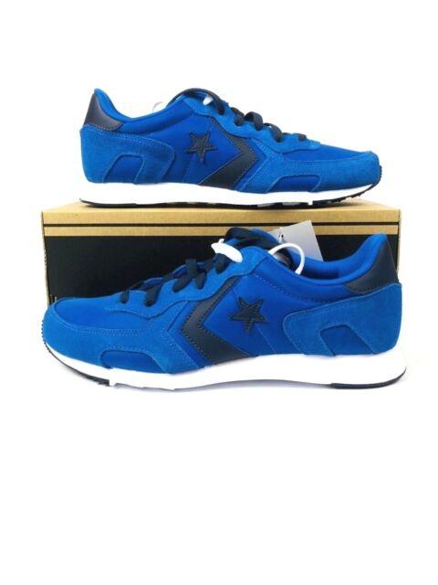 556be8178f6e3 Converse 84 Thunderbolt Ultra Suede Blue Black Men Classic Shoes 155608C