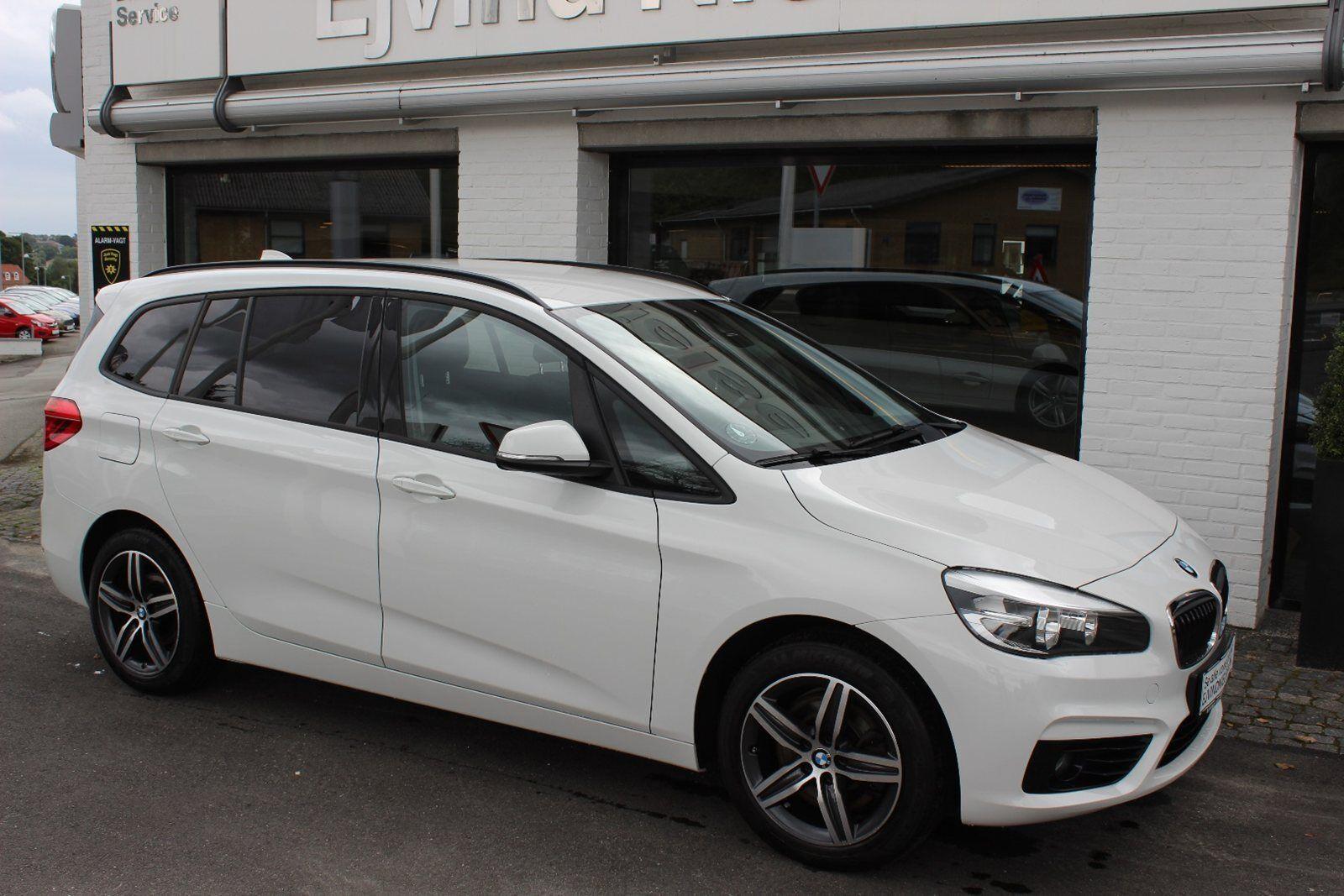 BMW 220d 2,0 Gran Tourer aut. 7prs 5d - 339.900 kr.
