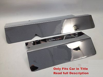 Impala SS LT1 1994-1996 Fleetwood Roadmaster 2 Pc WIPER MOTOR COVER Stainless
