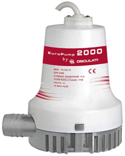 POMPA DI SENTINA LT 128 MIN EUROPUMP II 2000 128LT/MIN 24V