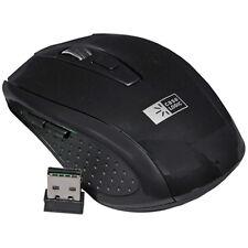 Case Logic Mouse, Optical Wireless Mouse with 800DPI Optical Sensor, Black