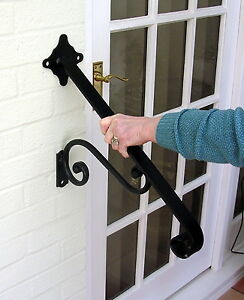 Image Is Loading Wrought Iron Hand Rail For Stairs
