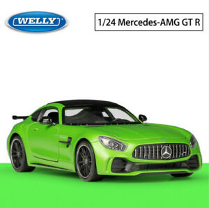 Aleacion-1-24-Modelo-de-Coche-Deportivo-De-Carreras-De-Juguete-Mercedes-Benz-AMG-GTR-Metal-vehiculos