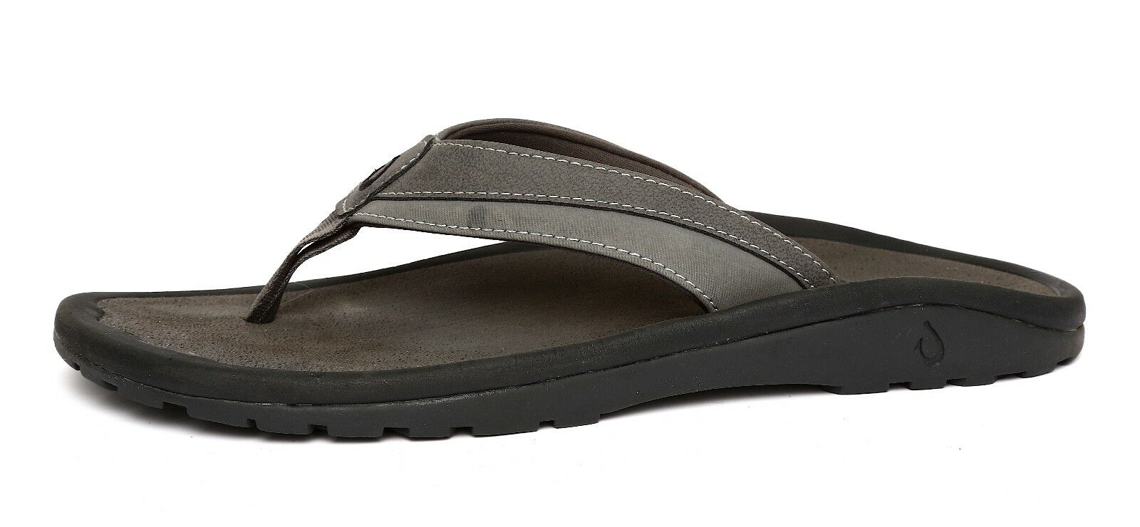 Olukai Ohana Men's Grey Sandal Sz 11M 9746
