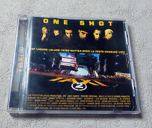 CD-AUDIO-INT-ONE-SHOT-034-TAXI-2-BOF-034-CD-COMPILATION-2000-DELABEL-16-TRACKS