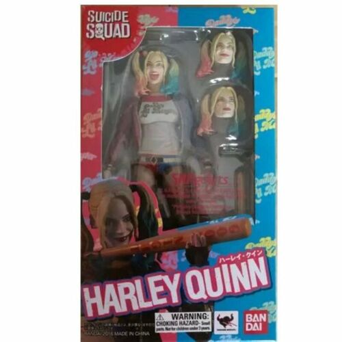 Suicide Squad Harley Quinn Action Figure S.H.Figuarts Collectible Toys Xmas Gift
