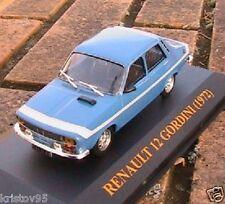 RENAULT 12 GORDINI 1972 IXO MODELS 1/43 BLEU RALLYE NEW CIXJ000039 R12 BLUE