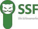 SSF Rohrrahmen Edelstahl PZ Riegel Profiltür Schloss 24ktgx160//D25mm DIN L//R