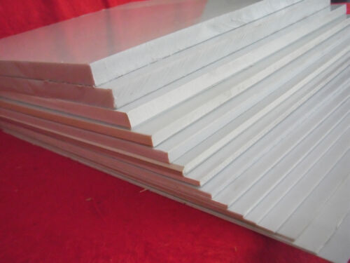1Pcs ABS Styrene Plastic Sheet Plate White Smooth wide 1-12mm