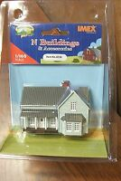 Imex N Scale Farm House Built-up Building