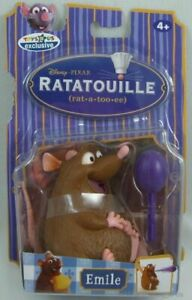 "New Disney Ratatouille 4"" Emile Rat Action Figure Sealed in Package"