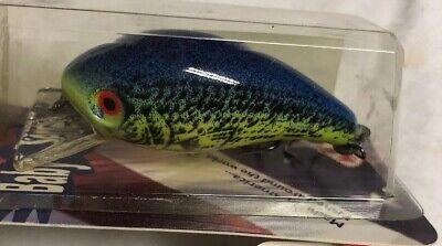 Mann's Baby 1//4 Oz Splatterbk Sunfish Lure 4 Minus 4 Left