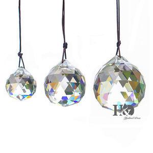 Kristall-Kugelset-30-40-50mm-Crystal-Feng-Shui-Eyecatcher-Regenbogenmacher-Prism
