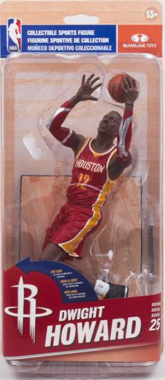 Mcfarlane NBA 25 - Houston Rockets - Dwight Howard - Silver Level Figurine Neu