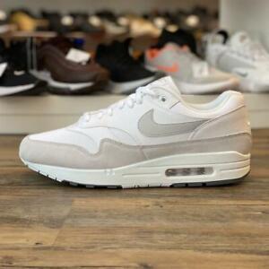 Details zu Nike Air Max 1 Gr.46 weiß grau AH8145 110 Herren Schuhe Sport Sneaker Premium