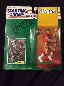 Brent Jones Signature / Autographiée 1994 Début de la ... 49ers 76281685205