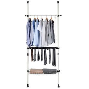 wardrobe-sorting-Pants-amp-Shelf-Hanger-Clothing-Rack-Clothes-Organizer-Hanger