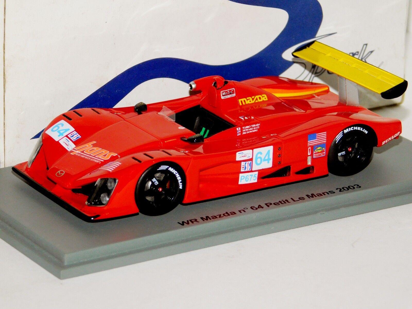 WR Mazda  64 Petit Le Mans 2003 Spark construire 17 1 43
