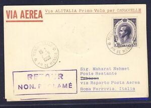 Monaco Italien Karte.Details Zu 46603 Italien Lai Cancelled Ff Rom Teheran 12 6 60 Card Karte Ab Monaco