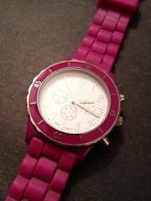 Women's American Eagle Outfitters AEO Purple Watch with Rubber Band! VERY NICE !