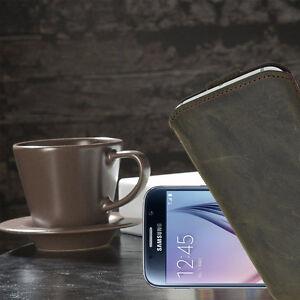 Samsung-Galaxy-S6-Ledertasche-Tasche-Etui-Case-Handytasche-Schutzhulle-Hulle