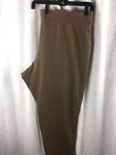 J. Jill Pure Jill Womens 4X Tapered Ankle Pant in Camel Brown