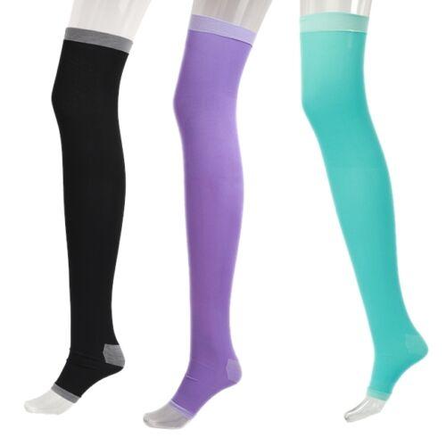 Fashion Womens Slim Sleeping Beauty Leg Compression Burn Fat Thin 420D Socks S