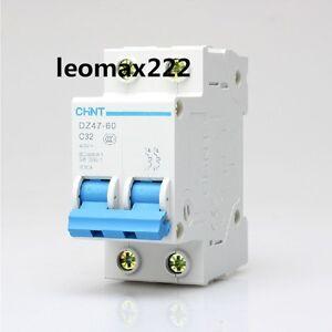 Ebay dz47 60 c32 2 pole 2p din rail mcb miniature circuit breaker image is loading ebay dz47 60 c32 2 pole 2p din publicscrutiny Image collections