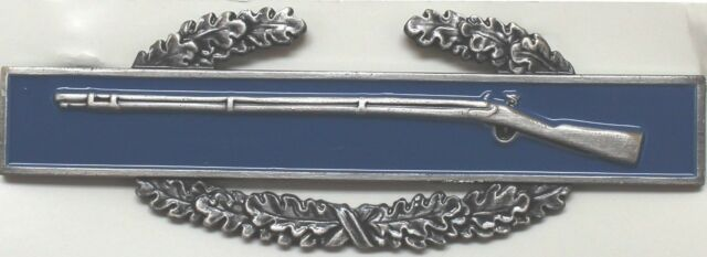 New US Army First Award CIB Combat Infantry Badge full size each R1902