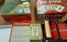 2011 Mah Jongg Gold Standard Edition Card Game Complete