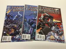 TRANSFORMERS BEST OF UK TIME WARS #1-3 (IDW/021661) COMPLETE SET LOT OF 2