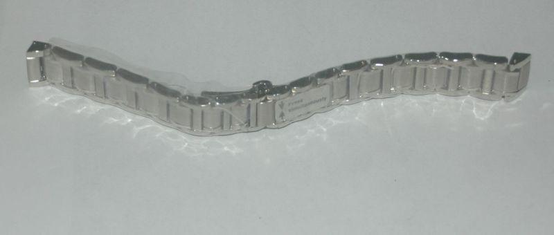 Zenith Port Royal Royal Royal Cinturino in Acciaio 16 mm Nuovo e Confezione Originale 823b03