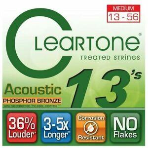 Cleartone-7413-EMP-Phosphor-Bronze-Acoustic-Guitar-Strings-13-56-Medium