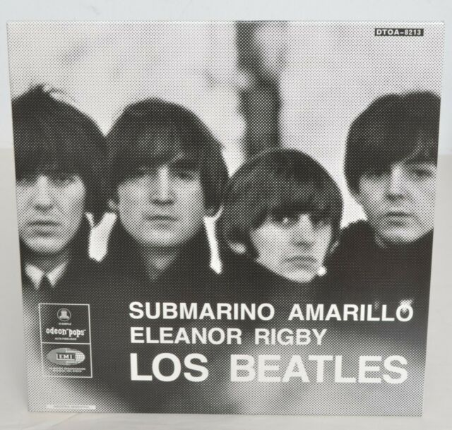 "BEATLES ""Eleanor Rigby / Yellow Submarine"" 7"" from 2019 Singles Box Set NEW"
