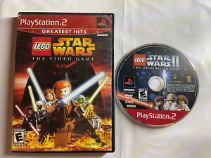 Lego Star Wars The Video Game (PLAYSTATION 2 PS2) - No Manual - Tested & Working