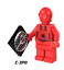 LEGO-Star-Wars-Minifigures-Han-Solo-Obi-Wan-Darth-Vader-Luke-Yoda-Fox-Rex-R2D2 thumbnail 28