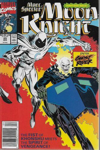 Marc Spector Moon Knight No.25 Howard Mackie /& Mark Bagley 1991 Ghost Rider