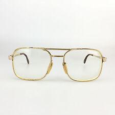 Zeiss West Germany GEP Eyeglasses Mod. 5806 Gold Eyewear Prescription Frames