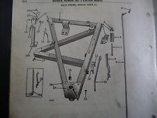 JOHN DEERE No. 5 SICKLE POWER MOWER latch spring Z 980 H