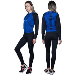 Details zu Adidas Climalite Damen Trainingsanzug Sportanzug Jogginganzug Jacke Leggings XXS