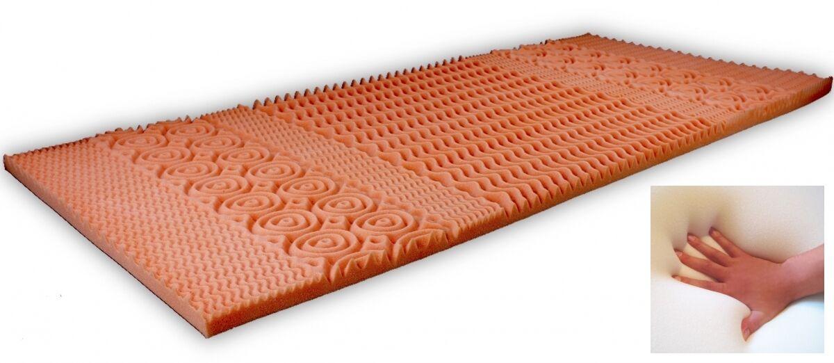 7 zonen gel matratzen topper gelschaum matratzenauflage auflage f r matratze neu ebay. Black Bedroom Furniture Sets. Home Design Ideas
