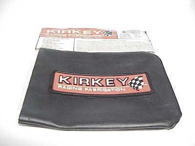 KIRKEY LEFT SIDE ALUMINUM HEAD REST SUPPORT TWEED COVER # 00211 IMCA DIRT BUTLER