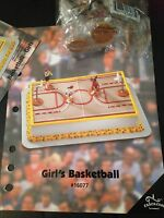 Decopac Girls Basketball Cake Topper Decorating Kit Birthday Hoops Players