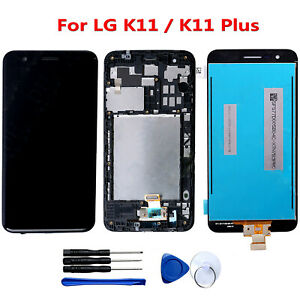 Per-LG-K11-K11-Plus-Schermo-LCD-Display-Touch-Screen-Digitizer-Frame-Assembly